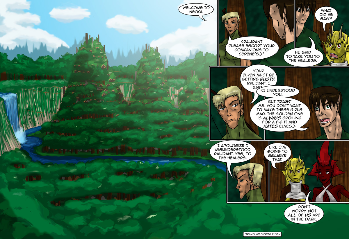 The Chronicles of Loth page 22-23 chapter 8