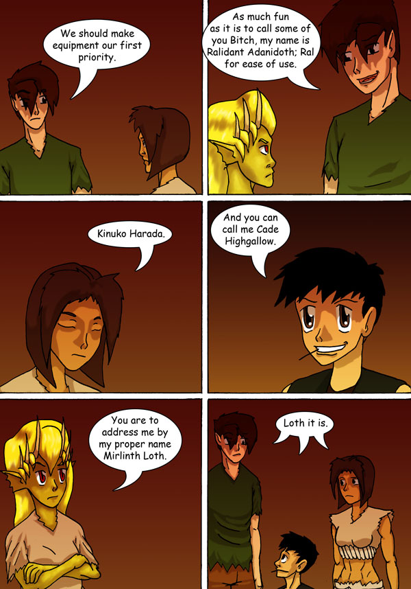 The Chronicles of Loth page 14 chapter 2