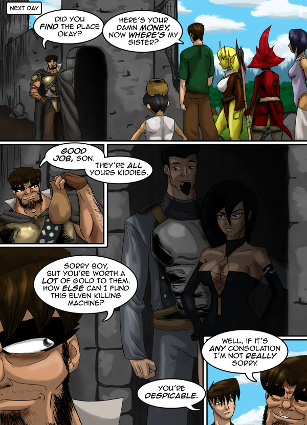 The Chronicles of Loth page 23 chapter 9