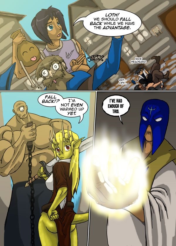 The Chronicles of Loth page 25 chapter 7