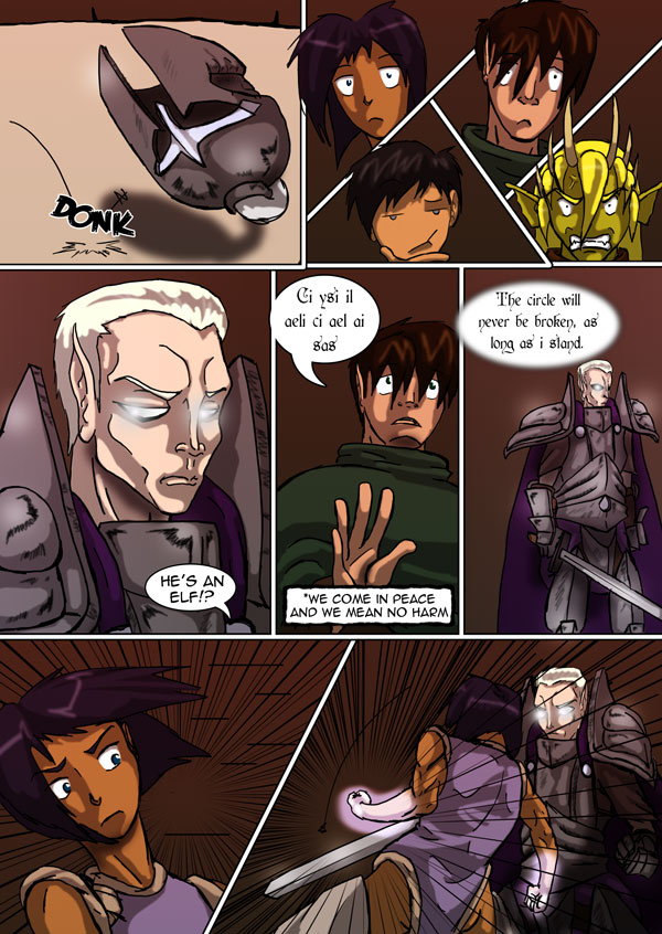 The Chronicles of Loth page 16 chapter 5