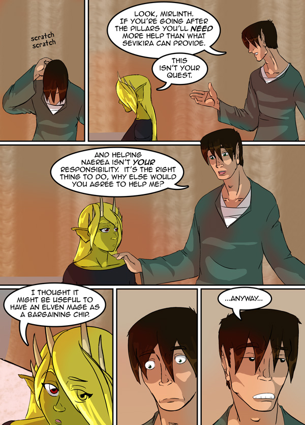The Chronicles of Loth pg. 9 ch. 13