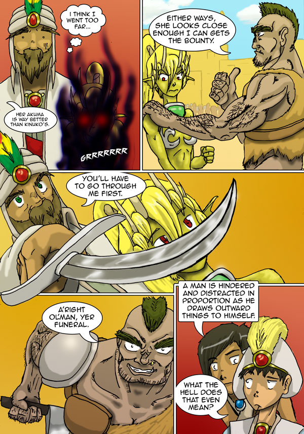 The Chronicles of Loth page 10 chapter 4
