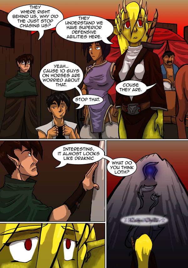 The Chronicles of Loth page 9 chapter 5